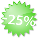 25% Off Paid Tokens promotion